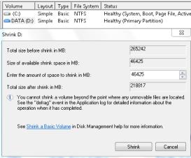 ini dia Cara Mempartisi Hard Disk Pada Windows 7