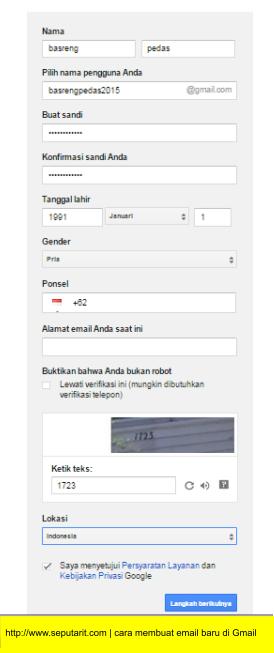 ini juga Cara Membuat Email Gmail Terbaru Dengan Mudah dan Cepat
