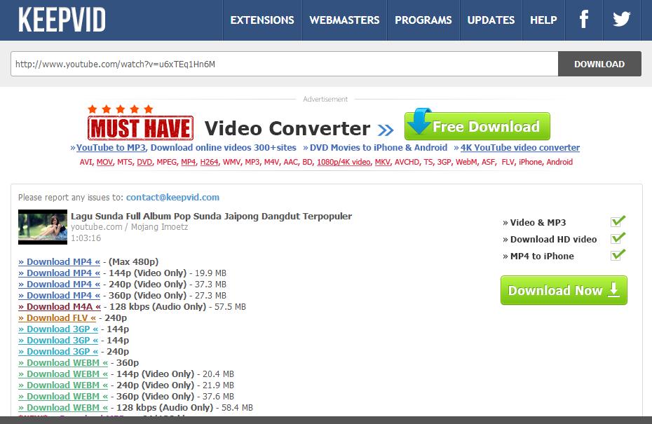 Cara Download Video Di Youtube Dengan Mudah Tanpa Aplikasi