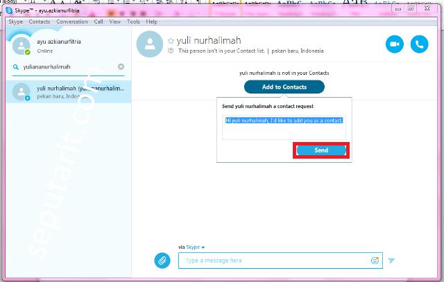 Ini juga Cara Mendownload Menginstal Dan Menggunakan Skype Di Komputer