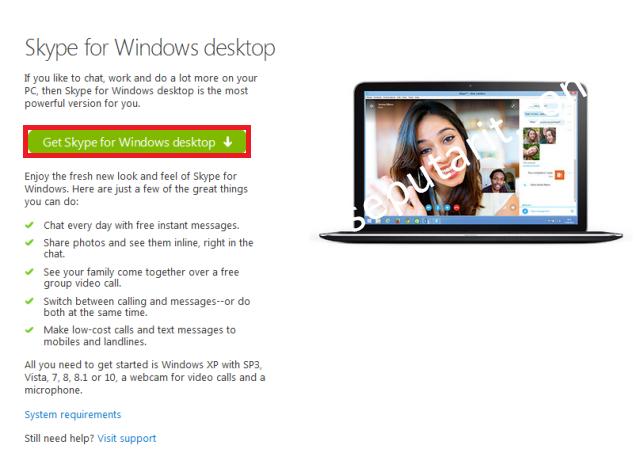 Cara Mendownload Menginstal Dan Menggunakan Skype di Komputer