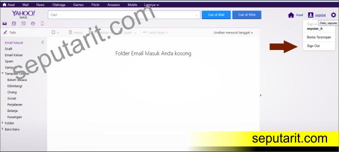 ini ternyata Cara Mengirim Email di Yahoo Indonesia Terbaru ke Email Lain
