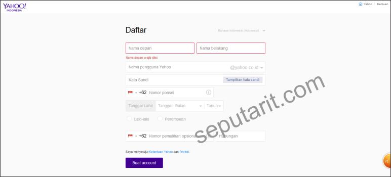 Cara Membuat Email Yahoo Indonesia Terbaru Mudah dan Cepat