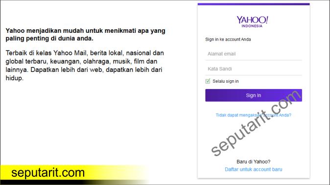 ini dia Cara Mengirim Email Yahoo