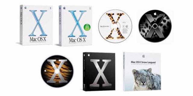 Versi-versi MAC OS X