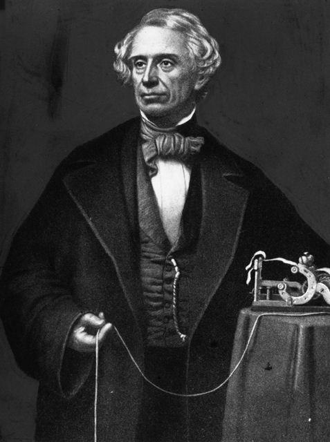 Penemu Telegraf - Sejarah Perkembangan Teknologi Informasi dan Komunikasi TIK