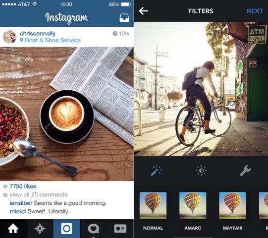 Tampilan instagram aplikasi keren yang wajib ada di android