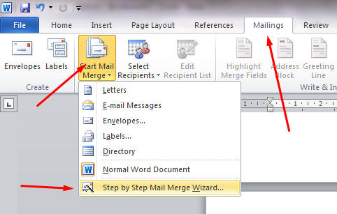 Cara Membuat Mail Merge di Microsoft Word 3