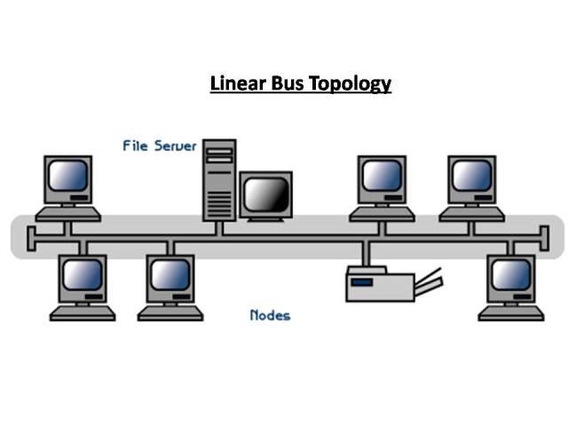Jenis jenis topologi jaringan beserta gambar tolologi linear