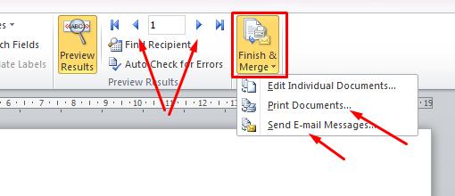 belajar mail merge di microsoft word ini dia
