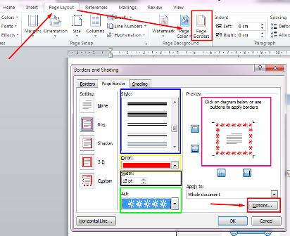 ini Cara Membuat Bingkai di Microsoft Word 2007 2010