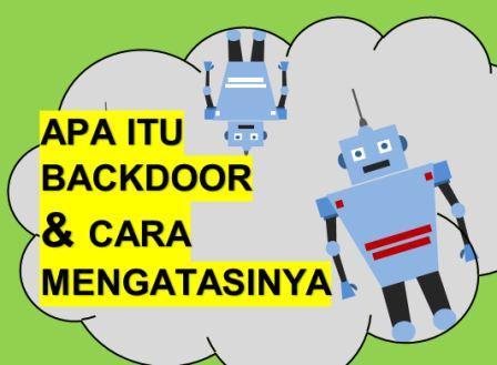 ini dia cara mengatasi virus backdoor
