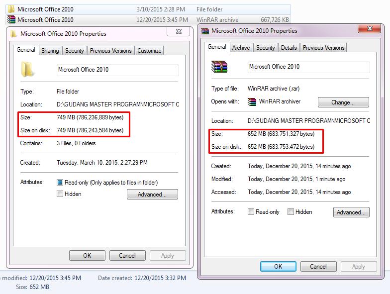 ini dia cara mudah kompres file menjadi lebih kecil
