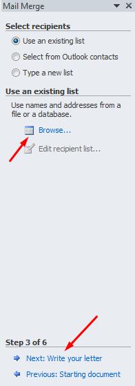 inilah membuat surat masal dengan mail merge itu mudah