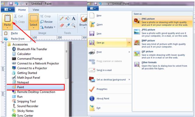ini cara mudah mengambil screenshot di laptop komputer PC