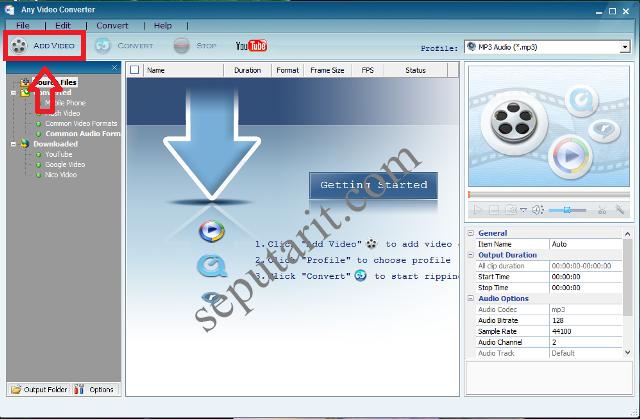 cara mudah mengubah format video