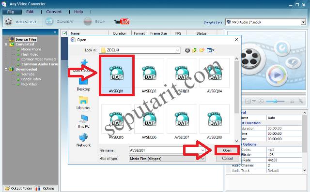 cara cepat mengubah format video menjadi MP3 dengan software