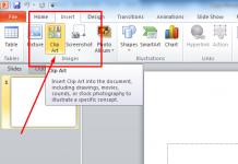 ini adalah Menambahkan Gambar atau Clip Art Pada Microsoft Power Point