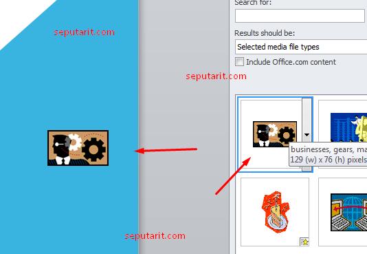 berikut cara Menambahkan Clip Art Padacara Menambahkan Clip Art Pada Microsoft Power Point Microsoft Power Point