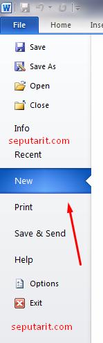 Cara Membuat Dokumen Baru di Microsoft word inilah dia