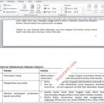 Cara Membuat Orientasi Portrait Dan Landscape Dalam Satu File Microsoft Word