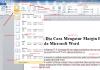 ini dia cara mengatur margin halaman pada microsoft word