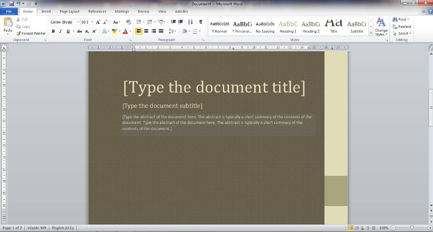 pembahasan membuat dokumen baru dengan sample templates