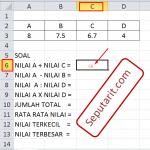 ini adalah Cara Menggunakan Rumus Pada Microsoft Excel