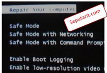 dibahas tentang Fungsi dan Cara Masuk Safe Mode Windows 7