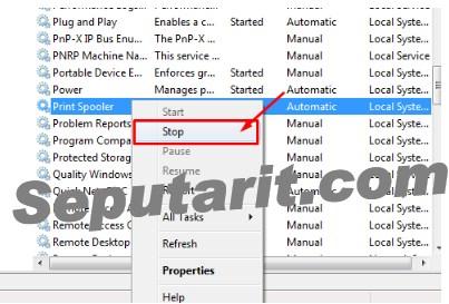 dengan tutorial ini Cara menghapus Daftar Printer Yang Tidak Digunakan Di Windows 8 10
