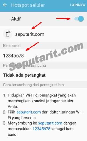 ulasan lengkap mengaktifkan fitur wifi hotspot portable di android sebagai modem wifi