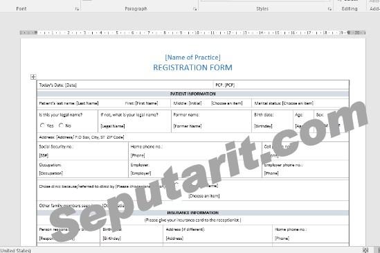 berikut panduan Cara Membuat Formulir Dengan Microsoft Word dengan mudah