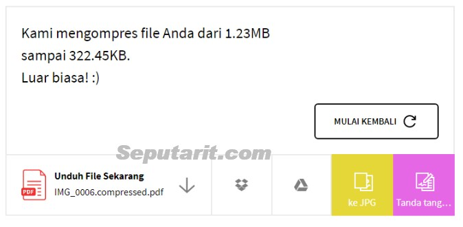 kawan ikuti Cara Memperkecil Ukuran File PDF Kompres dan Mengecilkan Berkas PDF