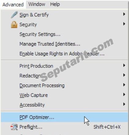 kawan Cara Memperkecil Ukuran Kompres dan Mengecilkan Berkas PDF dengan PDF optimizer