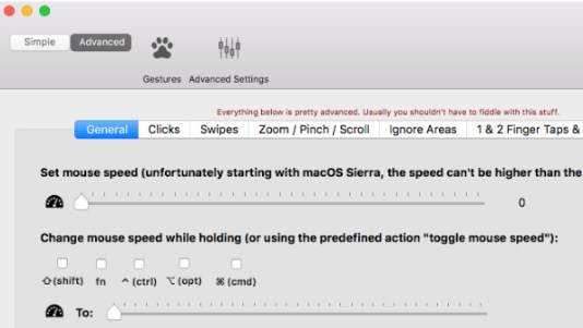 artikel cara Tweaking Mouse dengan BetterTouchTool