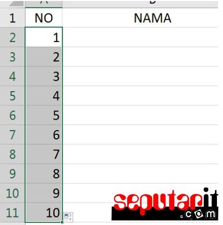 kuti Cara Membuat Absensi Daftar Hadir Dengan Cepat di MS Excel