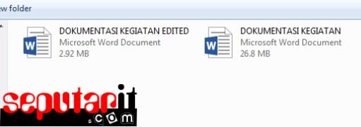 kawan baca Cara Memperkecil Ukuran File Microsoft Word