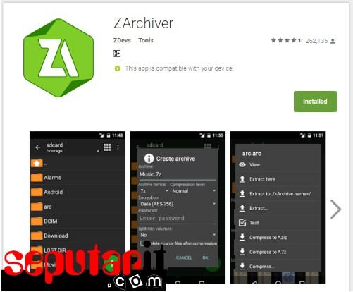 gunakan Cara Mengkompress atau Mengecilkan Ukuran File di Android