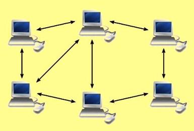 ini adalah Macam Jaringan Komputer Peranan serta Hubungan setiap Komputer dalam Memproses Data Peer to Peer