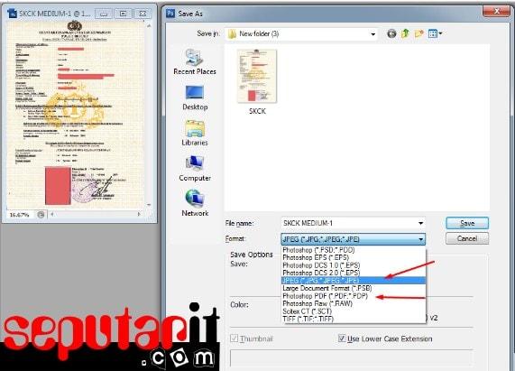 ini cara membuat file PDF lebih dari 1 halaman