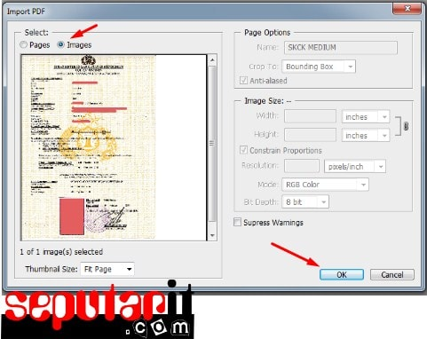 scan to make a pdf file