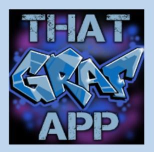 silahkan download edit tulisan grafiti lewat hp android