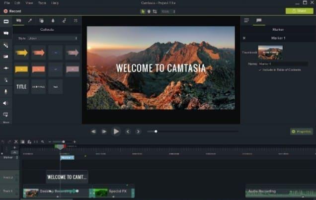 favorit Aplikasi Edit Video Untuk PC Terbaik camtasia studio