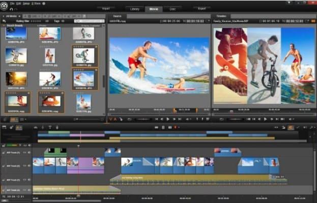 sekarang download Aplikasi Ediing Video Untuk PC Terbaik Yang Paling Bagus untuk pemula pinaccle studio