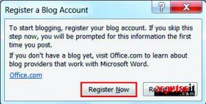 ini dia cara posting artikel ke blog di word
