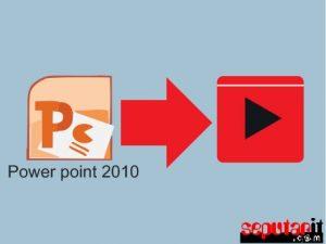 cara mengubah power point 2010 menjadi video