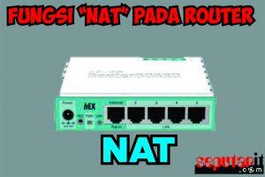 fungsi nat pada router