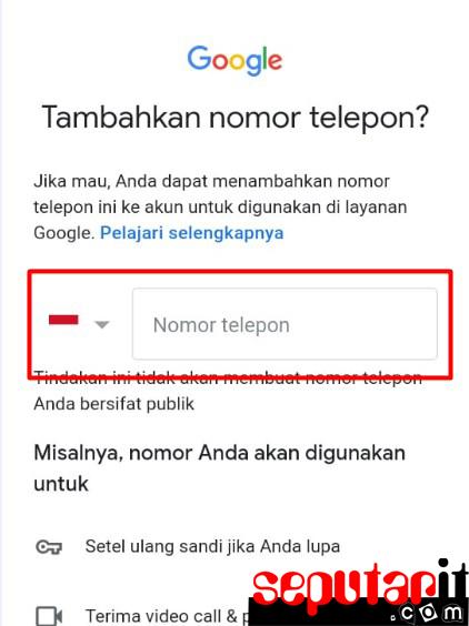 cara buat google akun di android dengan mudah