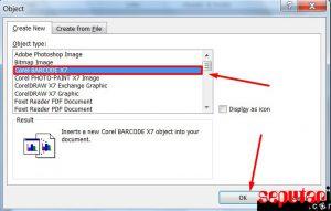 cara membuat barcode kode batang harga produk di microsoft word 2010