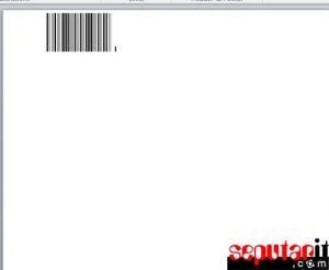barcode dengan word